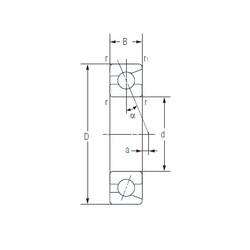 60 mm x 95 mm x 18 mm  NACHI 7012AC Face-to-face duplex arrangement Bearings