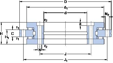 SKF NRT 325 B Matched Angular Contact Ball Bearings