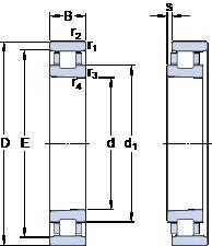 120 mm x 180 mm x 28 mm  SKF N 1024 KTN9/SP High Reliability Precision Bearings