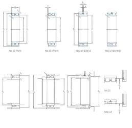 100 mm x 140 mm x 40 mm  SKF NNU 4920 BK/SPW33 High Accuracy Precision Bearings