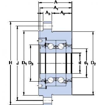 SKF FBSA 210/DB High Reliability Precision Bearings