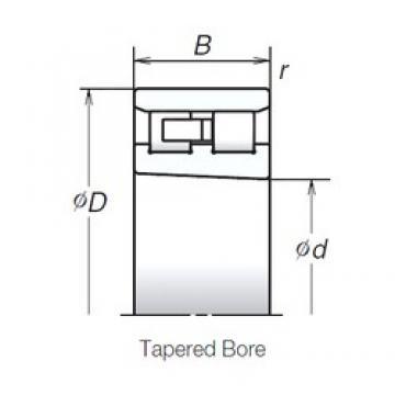 50 mm x 80 mm x 23 mm  NSK NN3010ZTBKR Reduced Torque from Optimized Design Precision Bearings