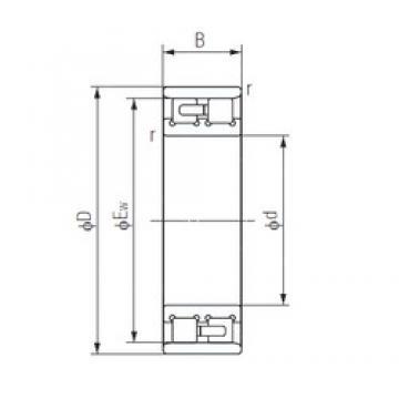130 mm x 200 mm x 52 mm  NACHI NN3026 Duplex angular contact ball bearings