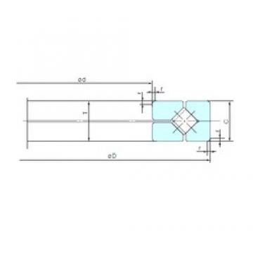 NACHI 200XRN28 aerospace applications Precision Bearings