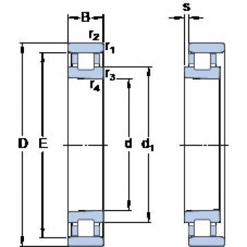 45 mm x 75 mm x 16 mm  SKF N 1009 KPHA/SP Face-to-face duplex arrangement Bearings