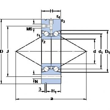 SKF BEAM 050115-2RZ aerospace applications Precision Bearings
