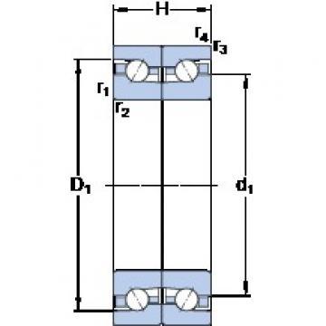 SKF BTM 60 ATN9/P4CDB Duplex angular contact ball bearings