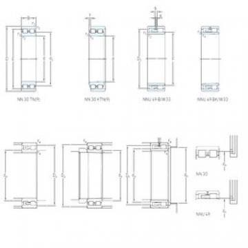 150 mm x 210 mm x 60 mm  SKF NNU 4930 B/SPW33 High Accuracy Precision Bearings