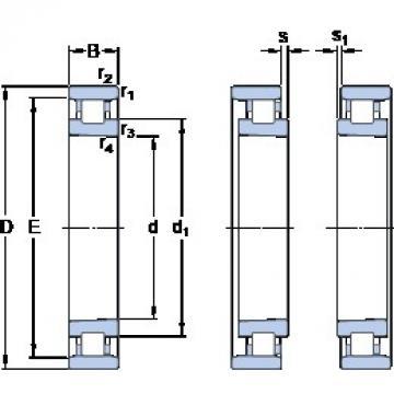 105 mm x 160 mm x 26 mm  SKF N 1021 KTNHA/HC5SP Face-to-face duplex arrangement Bearings