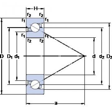 SKF BSD 4072 C aerospace applications Precision Bearings