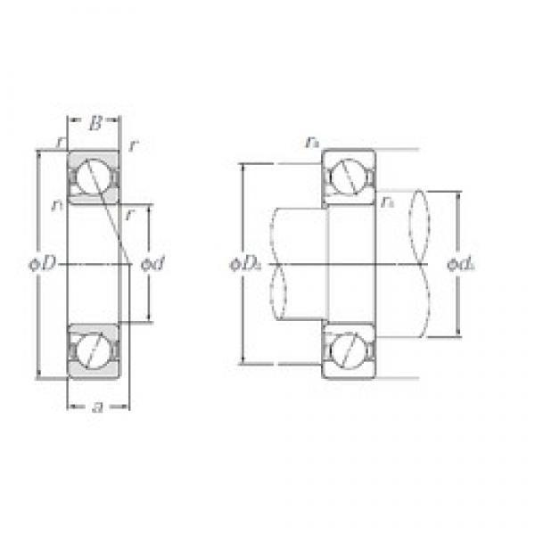 15 mm x 35 mm x 11 mm  NTN 5S-BNT202 Duplex angular contact ball bearings #1 image