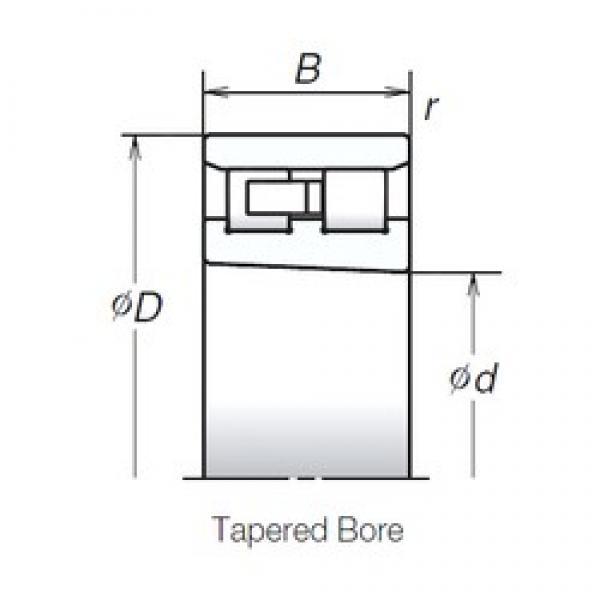85 mm x 130 mm x 34 mm  NSK NN3017TBKR High Accuracy Precision Bearings #1 image