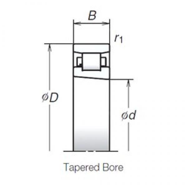 130 mm x 200 mm x 33 mm  NSK N1026MRKR Face-to-face duplex arrangement Bearings #1 image