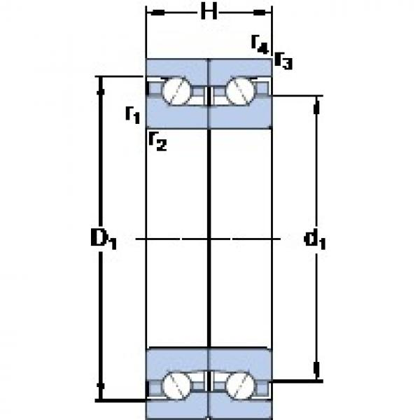 SKF BTM 65 BTN9/P4CDB Duplex angular contact ball bearings #1 image
