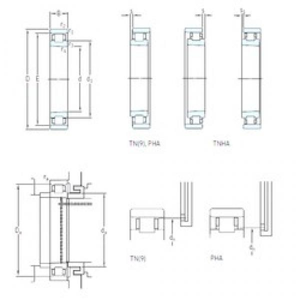 55 mm x 90 mm x 18 mm  SKF N 1011 KTN/HC5SP High Accuracy Precision Bearings #1 image