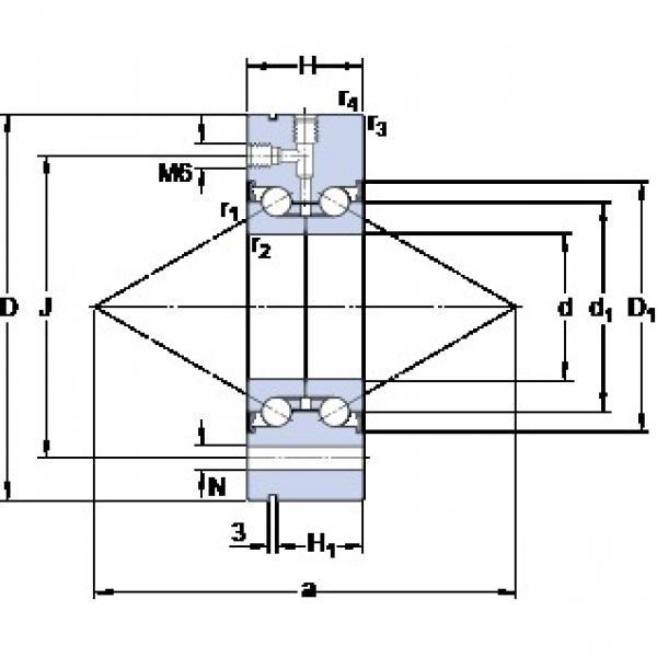 SKF BEAM 025075-2RS angular contact thrust ball bearings for screw drives #1 image